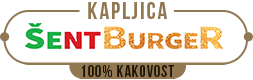 Kapljica ŠentBurger Logo